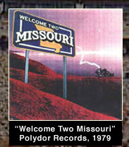 Welcome two Missouri Polydor Records 1979